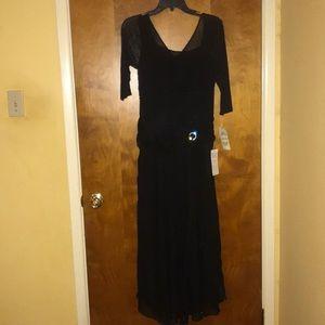 Beautiful long black dress